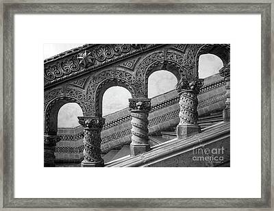 University Of California Los Angeles Powell Library Stairway Framed Print