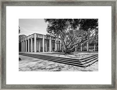 University Of California Los Angeles Schoenberg Music Framed Print