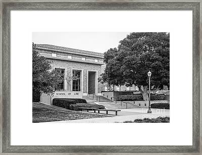 University Of California Los Angeles School Of Law Framed Print