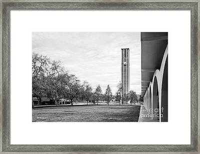 University Of California Riverside Bell Tower Framed Print