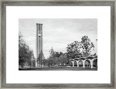 University Of California Riverside Tower And Rivera Library Framed Print