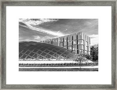 University Of Chicago Mansueto Library Framed Print