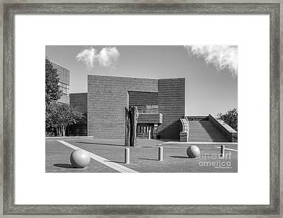 University Of Cincinnati Mary Emery Hall Framed Print by University Icons