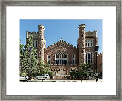 University Of Colorado Framed Print by John Greim