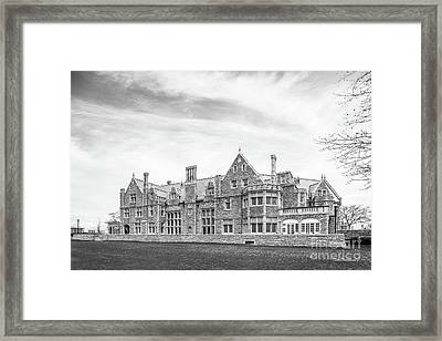 University Of Connecticut Avery Point Branford  Framed Print by University Icons