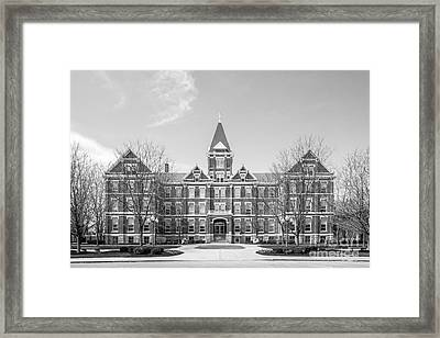 University Of Findlay Old Main Framed Print by University Icons