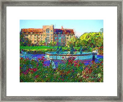 University Of Florida Framed Print