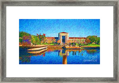 University Of Houston  Framed Print