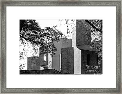 University Of Illinois At Chicago Behavioral Science  Framed Print by University Icons