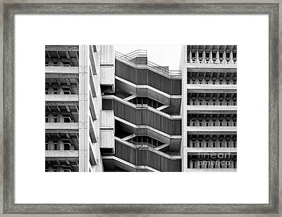 University Of Illinois At Chicago Science And Engineering Offices  Framed Print by University Icons