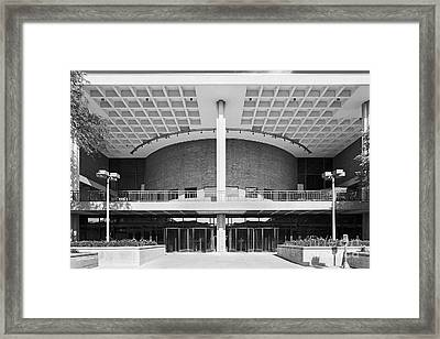University Of Illinois At Chicago Student Center East Framed Print by University Icons