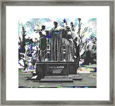 University Of Illinois  Framed Print