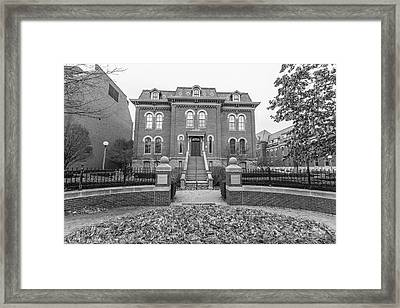 University Of Illinois Harker Hall  Framed Print