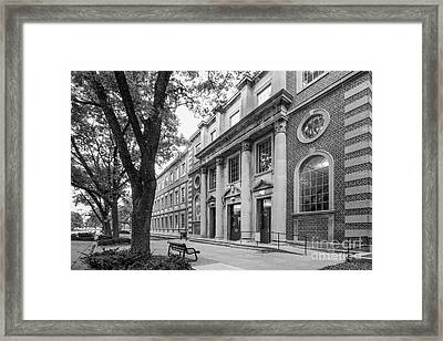University Of Iowa Chemistry Building Framed Print