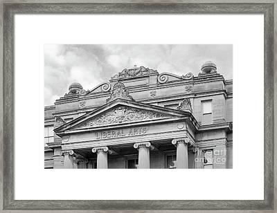 University Of Iowa Schaeffer Hall Framed Print