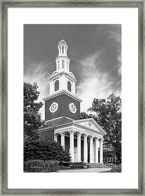 University Of Kentucky Memorial Hall Framed Print by University Icons