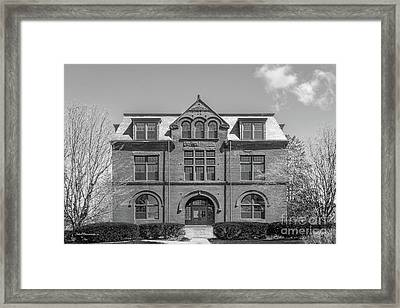University Of Maine Coburn Hall Framed Print by University Icons