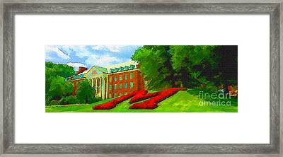 University Of Maryland  Framed Print