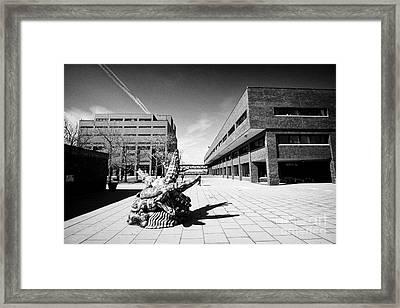 University Of Massachusetts Boston Campus Usa Framed Print
