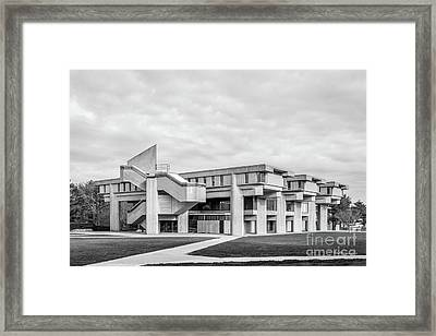 University Of Massachusetts Dartmouth Framed Print by University Icons