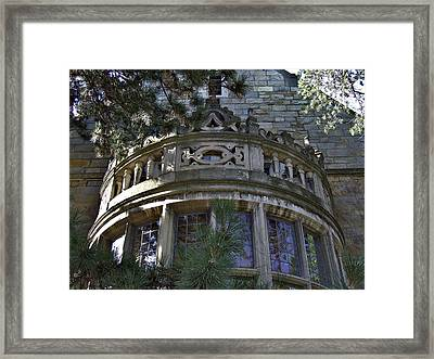 University Of Michigan Campus Building Framed Print