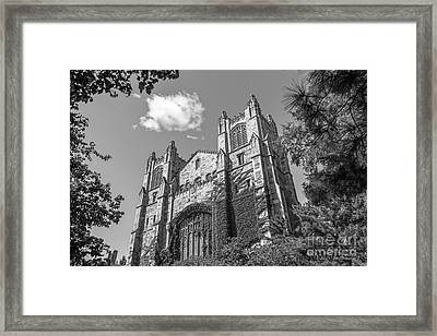 University Of Michigan Law Library Framed Print