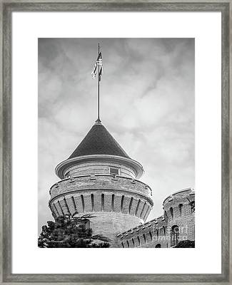 University Of Minnesota Armory  Framed Print