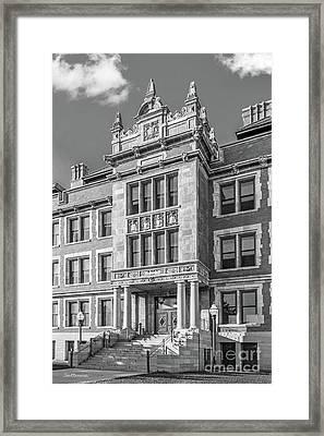 University Of Minnesota Folwell Hall Framed Print