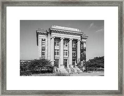 University Of Minnesota Johnston Hall Framed Print by University Icons