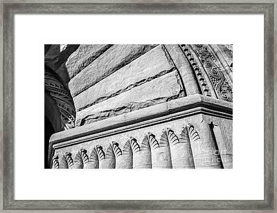 University Of Minnesota Pillsbury Hall Detail Framed Print