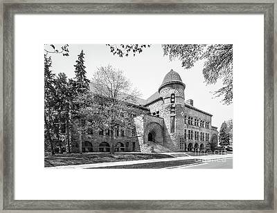 University Of Minnesota Pillsbury Hall Framed Print by University Icons