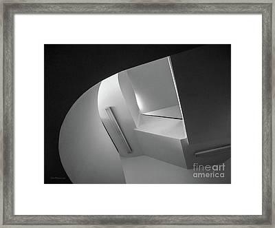 University Of Minnesota Stairwell Framed Print