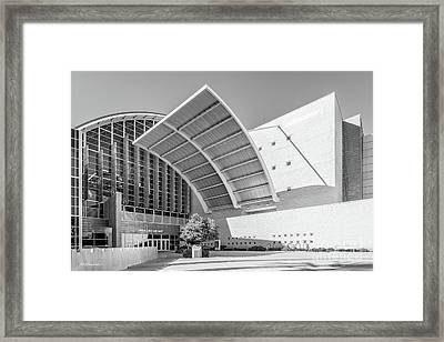 University Of Nevada Lied Library Framed Print by University Icons