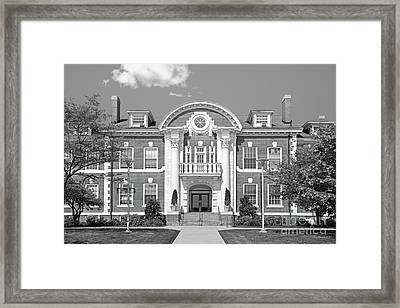 University Of New Haven Maxcy Hall Framed Print