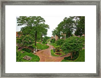 University Of North Alabama Framed Print by Mountain Dreams