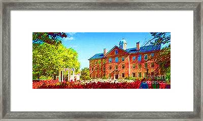 University Of North Carolina  Framed Print