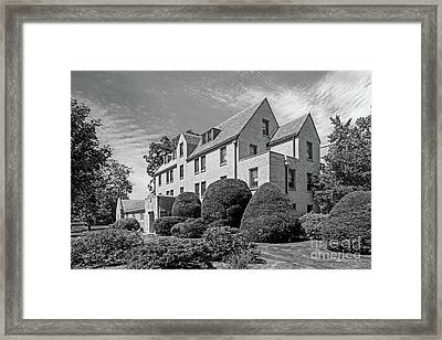 University Of Notre Dame Howard Hall Framed Print