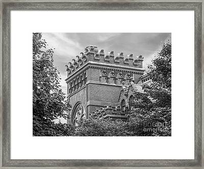University Of  Pennsylvania Fisher Fine Arts Library Framed Print by University Icons