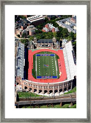 University Of Pennsylvania Franklin Field S 33rd Street Philadelphia Framed Print