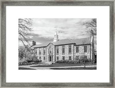 University Of Rhode Island Green Hall Framed Print by University Icons