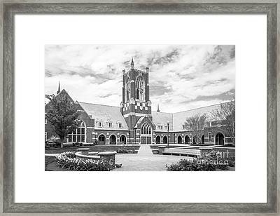 University Of Richmond Jepson Hall Framed Print