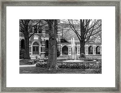 University Of Richmond Richmond Hall Framed Print