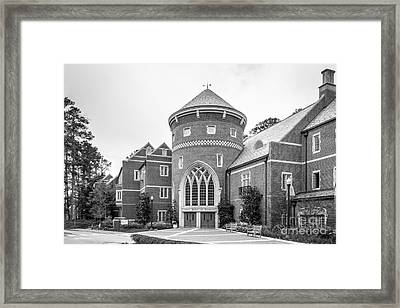 University Of Richmond Robins School Of Business Framed Print by University Icons