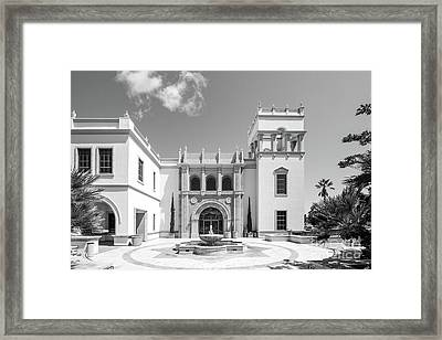 University Of San Diego Hill Hall Framed Print