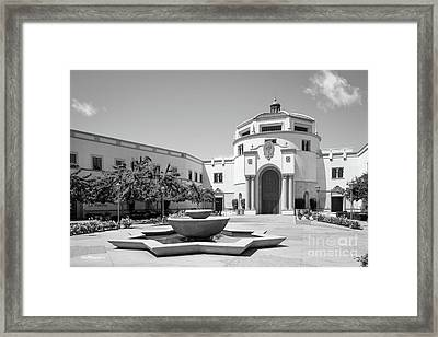 University Of San Diego Kroc School Of Peace Framed Print