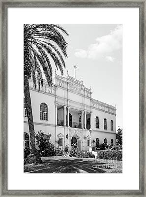 University Of San Diego Serra Hall Framed Print