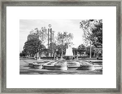 University Of Southern California Alumni Park Framed Print by University Icons