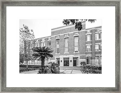 University Of Southern California Handcock  Framed Print