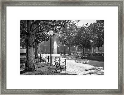 University Of Southern California Landscape Framed Print by University Icons
