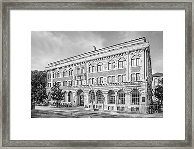 University Of Southern California Student Union Framed Print by University Icons